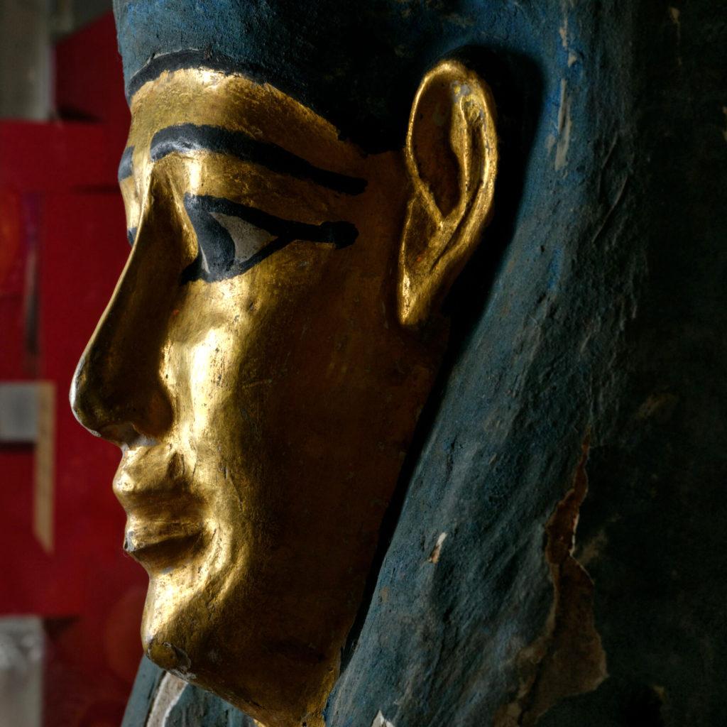 Sarcophage de la momie du prêtre Nes-Shou-Shou